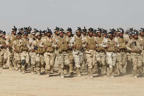 الجيش العراقي في تدريبات سابقة في الأنبار (أرشيف)